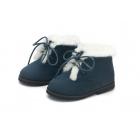 Ботинки LORA синие