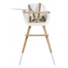 Стульчик для кормления Micuna OVO Luxe One Pearl White/Natural Beige