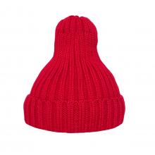 Шапка утеплённая красная