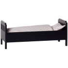 Кровать, большая, черная