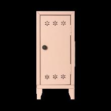Шкаф с 3 вешалками, пудровый