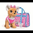 Мягкая игрушка CHI CHI LOVE Собачка Звёздный стиль с сумочкой