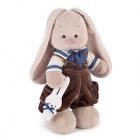 Мягкая игрушка Зайка Ми Бархатный шоколад (большая)