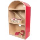 Деревянный дом для мышей, вкл. постельное белье и мебель