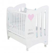 Кровать Micuna Wonderful White/pink
