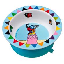 Тарелка глубокая на присоске Barbapapa
