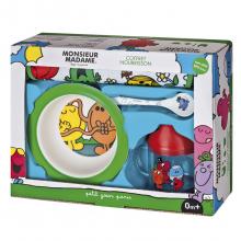 Набор детской посуды Monsieur Madame