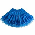 Голубая двусторонняя юбка