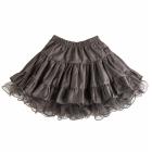 Серая двусторонняя юбка