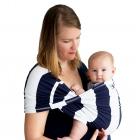 Слинг Baby K'tan Print синяя полоска