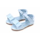 Туфли Mary голубые