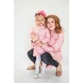Рубашка-туника розовая