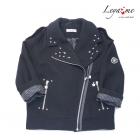 Куртка-косуха черная со звездами