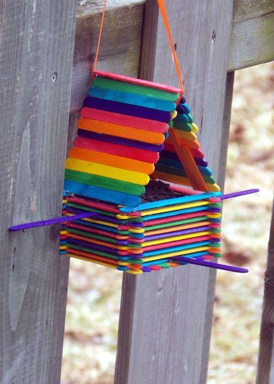 Идея кормушки для птиц