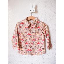 Рубашка с длинным рукавом «Грибочки»