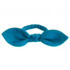 Резинка для волос тёмно-голубая