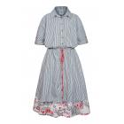 """Платье-рубашка """"WooF"""" для мамы"""