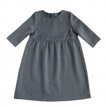 Платье детское темно-серое
