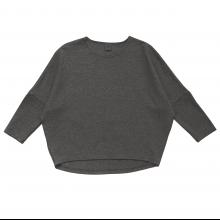 Взрослый лонгслив тёмно-серый