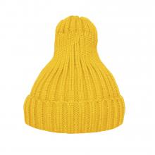 Шапка утеплённая жёлтая