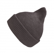 Хлопковая шапка коричневый меланж New