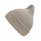 Хлопковая шапка песочный светлый New