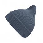 Хлопковая шапка сине-серый New