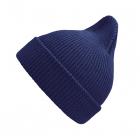 Хлопковая шапка синий New
