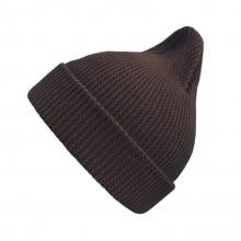 Хлопковая шапка шоколад New