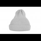Хлопковая шапка светло-серая