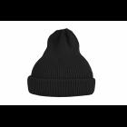 Хлопковая шапка черная