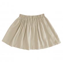 Детская вискозная юбка бежевая