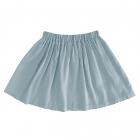 Детская вискозная юбка голубая