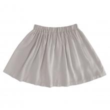 Детская вискозная юбка пюсовая (серо-бежево-розовый цвет)
