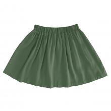 Детская вискозная юбка темно-зеленая