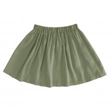 Детская вискозная юбка хаки