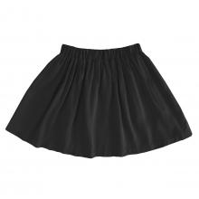 Детская вискозная юбка черная