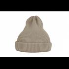 Хлопковая шапка песочная светлая