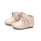 Ботинки JANE розовые