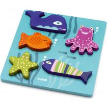 Рамка-вкладыш  Морские животные