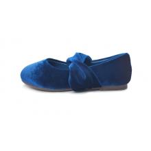 Бархатные туфли Sophia темно-синие