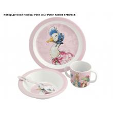 Набор детской посуды Peter Rabbit
