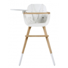 Стульчик для кормления Micuna OVO Plus One Pearl White/Natural