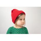 Хлопковая шапка красная