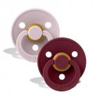 Набор BIBS Colour: Pink Plum/Elderberry, 6-18 мес