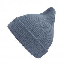 Хлопковая шапка пыльно-голубая New
