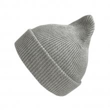 Хлопковая шапка светло-серая New