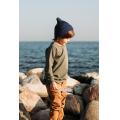 Хлопковая шапка тёмно-синяя New