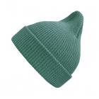 Хлопковая шапка цвет морской волны New