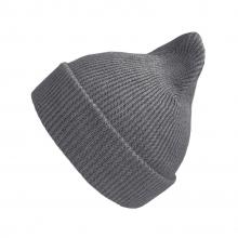Хлопковая шапка тёмно-серая New